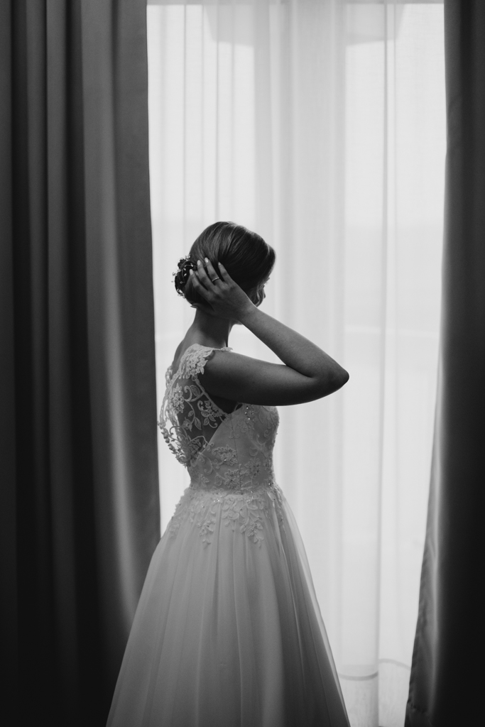 przygotowania ślubne, hotel janów