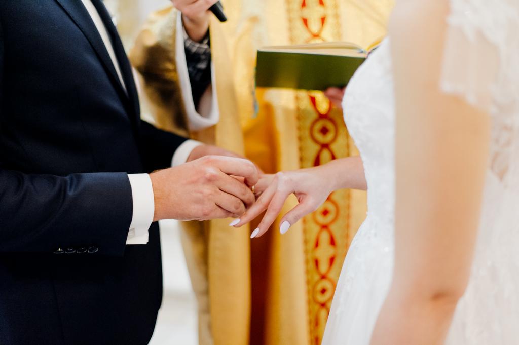 ślub kościelny, wesele hotel janów
