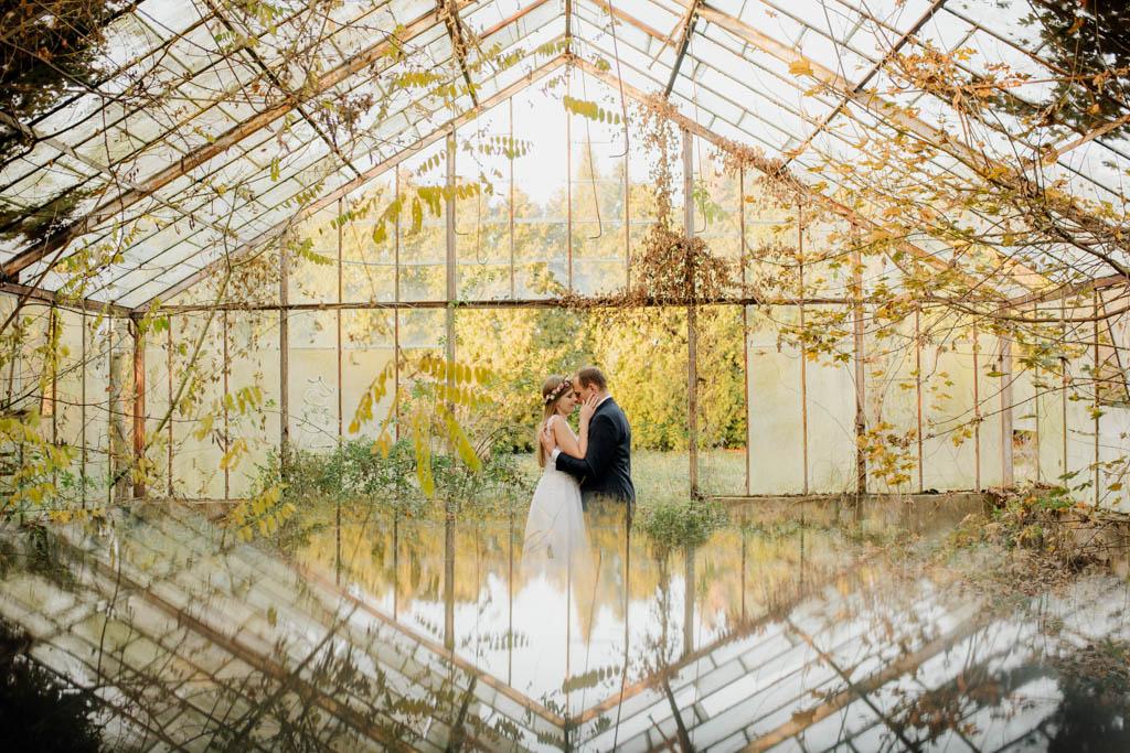 piekne chwile w górach pieprzowych wianek włosy fotograf ślubny