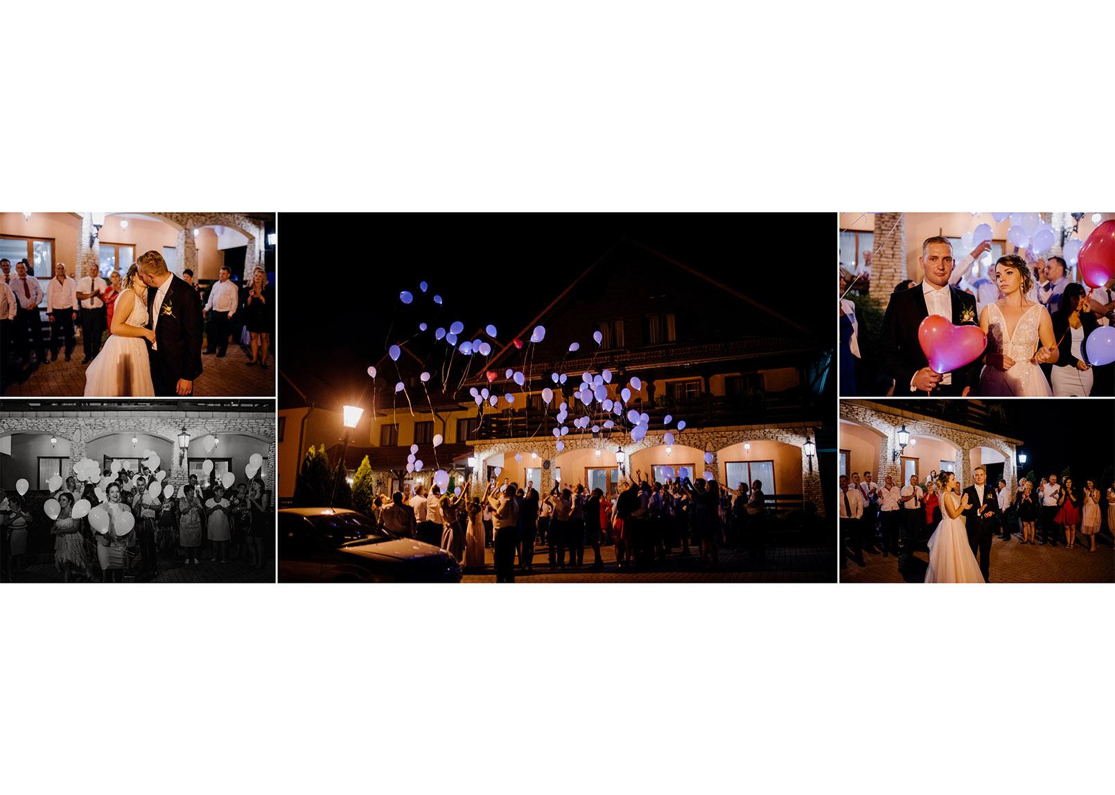 balony ledowe na weselu, fotograf na slub stalowa wola, fotograf slubny krakow