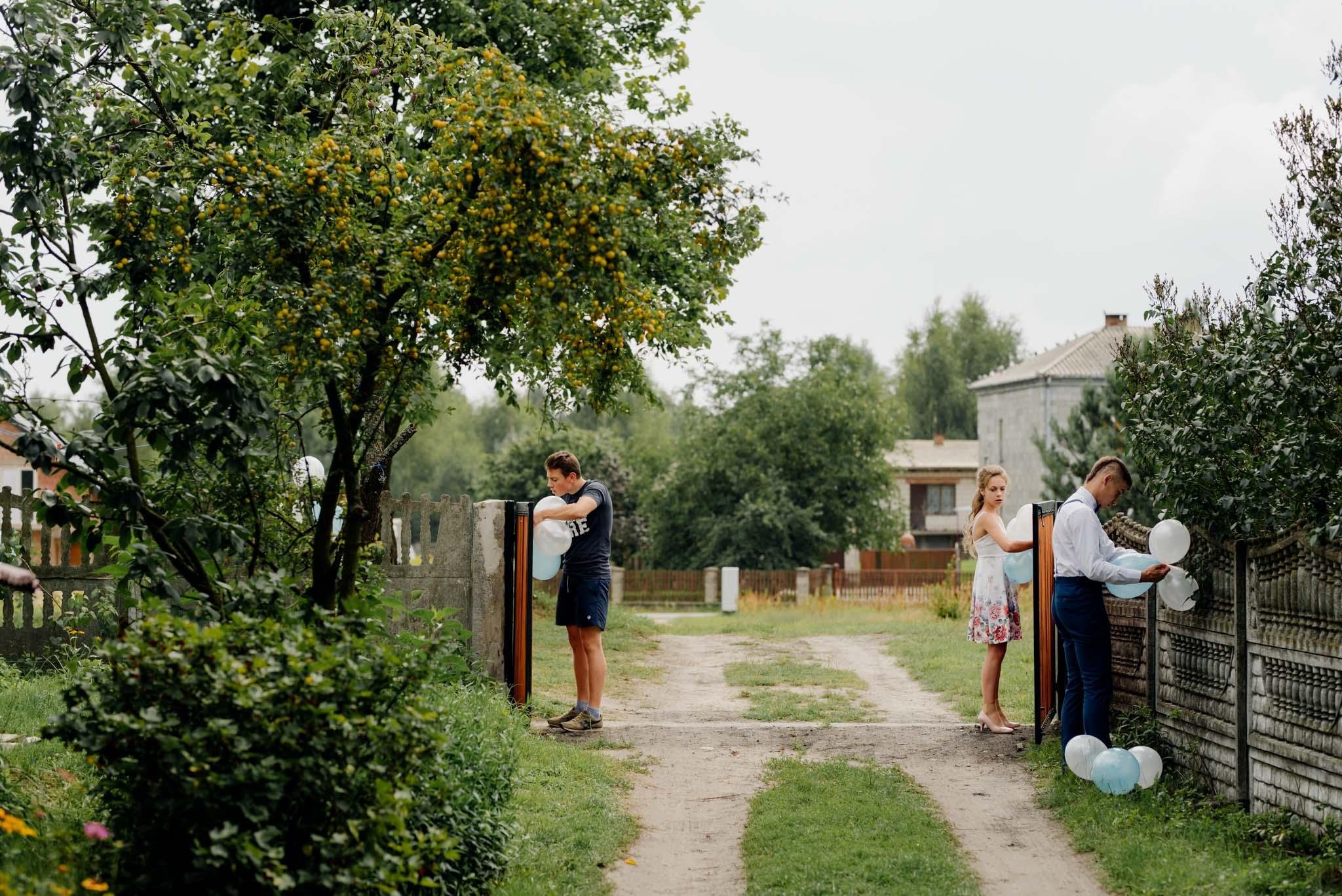 fotograf na wesele stalowa wola, przygotowania ślubne