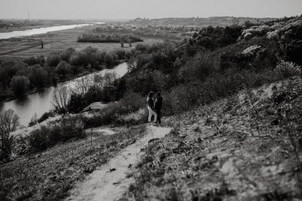 urocze widoki z sandomierzaa plener