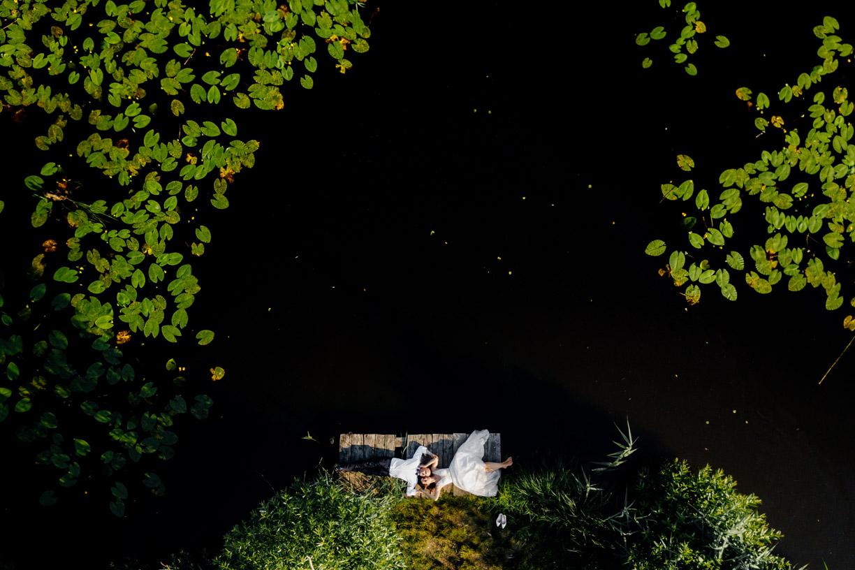 fotografia ślubna Rzeszów, plener slubny, fotografia z drona, dron