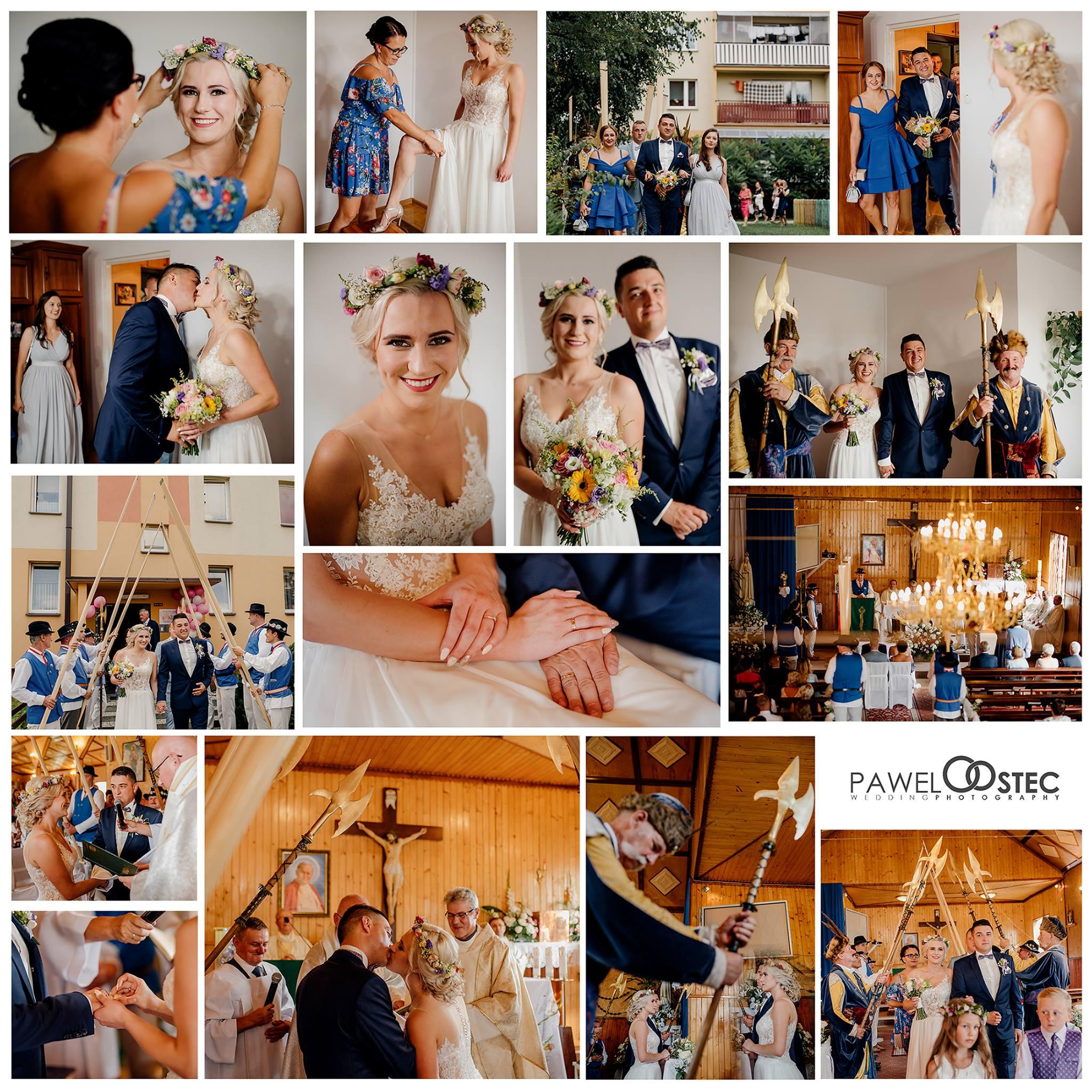 przygotowania ślubne w stalowej woli