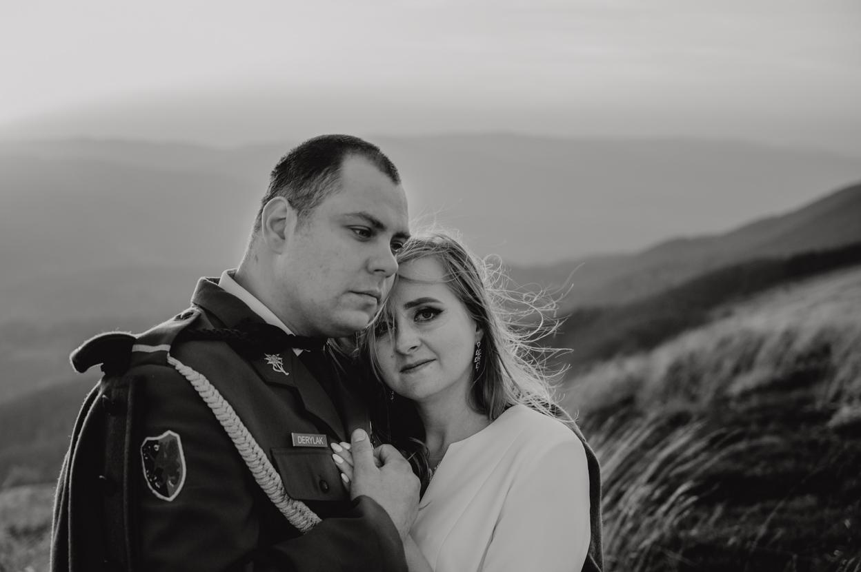 sesja ślubna bieszczady