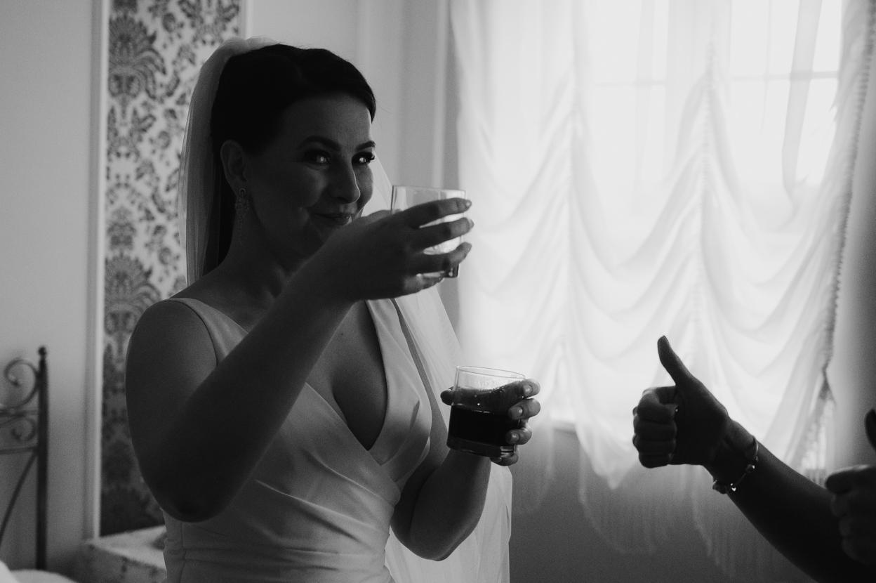 toast panny młodej