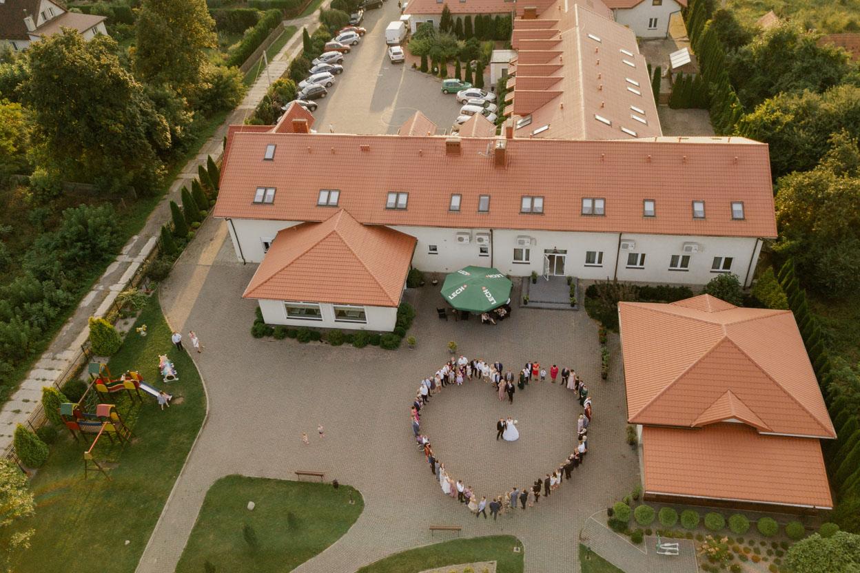 serce z drona