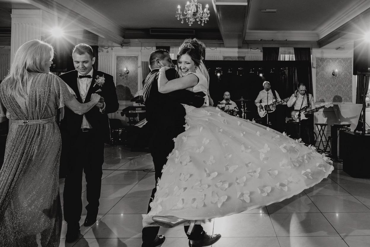 taniec z rodzicami