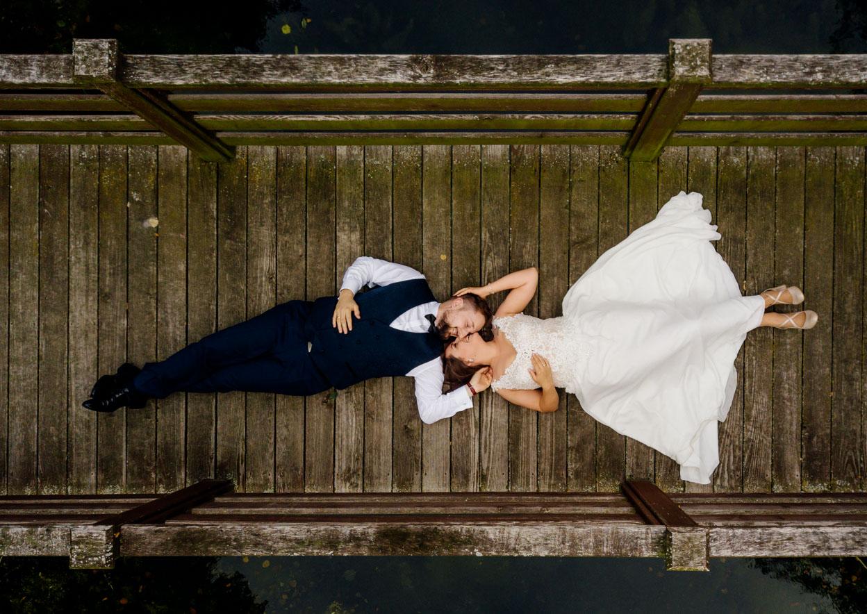 sesja ślubna z drona w kielcach