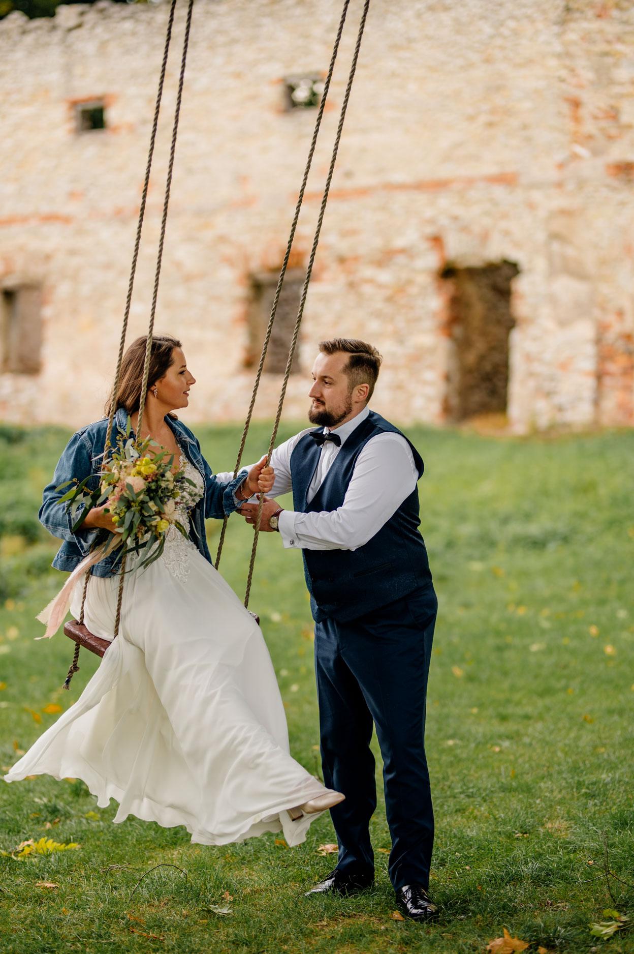 fotograf ślubny Kielce, plener ślubny pod Kielcami