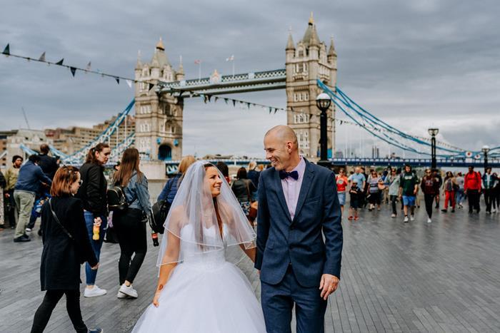 sesja ślubna w londynie